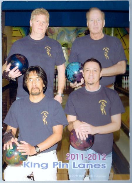 Bluegrass Classic Bowling League Our Team Shirts T-Shirt Photo