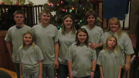 Grain Farm Holiday T-Shirt Photo