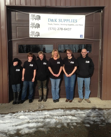 D&K Supplies Group Shot  T-Shirt Photo