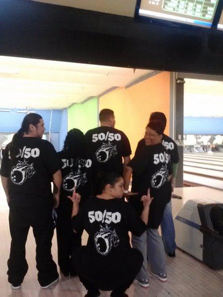 Team 50/50  T-Shirt Photo