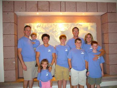 Family Vacation! T-Shirt Photo