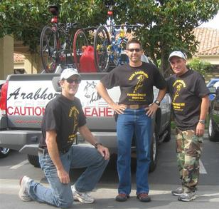 Before Furnace Creek 508 Mile Bicycle Race T-Shirt Photo