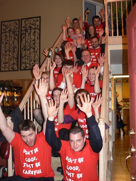 Christmas Rollercoaster T-Shirt Photo