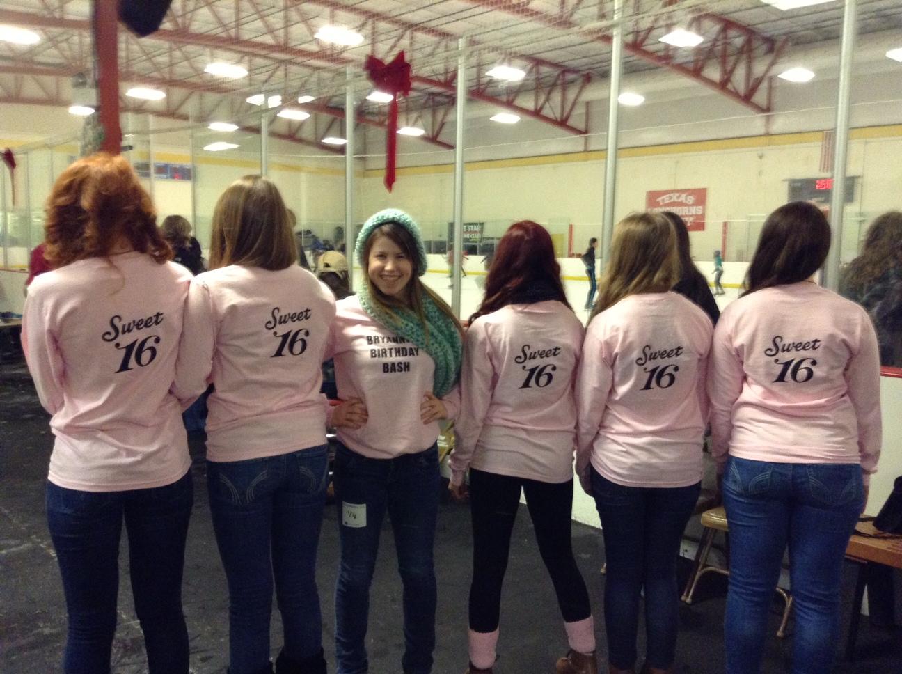 Design your own t-shirt birthday party - Bryanna S 16th Birthday Bash T Shirt Photo
