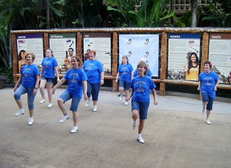 Dancing At The Polynesian Cultural Center, Ohau, Hawaii T-Shirt Photo