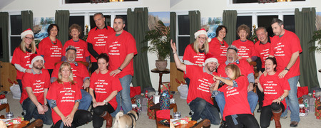 Brehant Christmas 2012 T-Shirt Photo