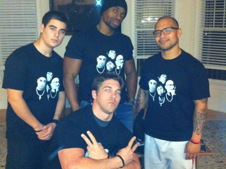 Jemand Pete Chandler Andres T-Shirt Photo