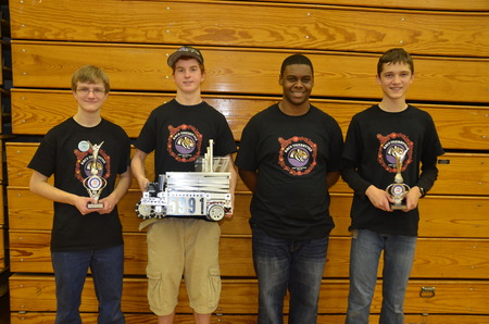 Tigerbots Takes Home First Place In The Ftc Robotics Competition! T-Shirt Photo
