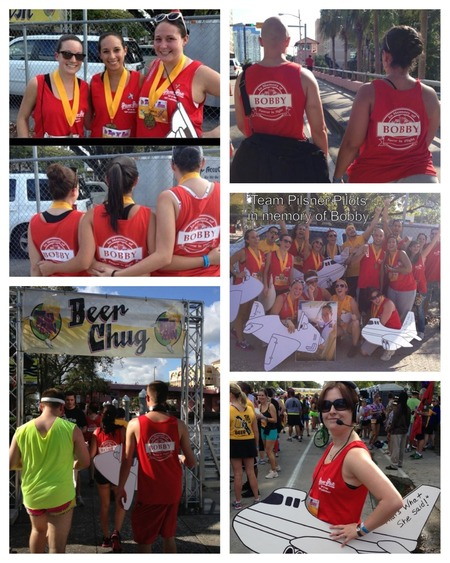 Tap N Run Ft Lauderdale Team Pilsner Pilots T-Shirt Photo