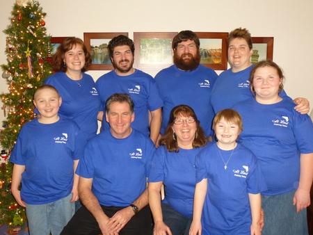 At Last Fishing Team T-Shirt Photo