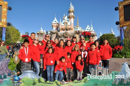 Sicats At Disneyland 2012 T-Shirt Photo