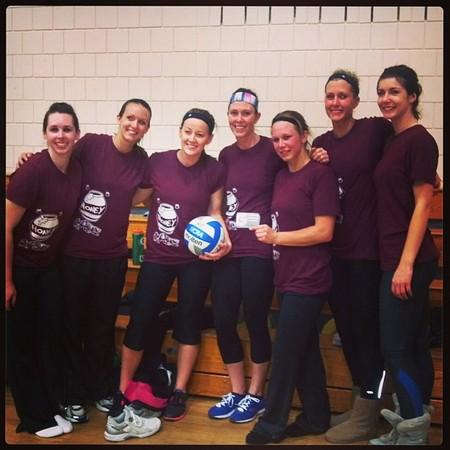 Honey Badgers  Volleyball Tournament Winners! T-Shirt Photo
