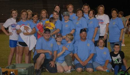Loving Start Friends & Family Following The Yellow Brick Road To A Cure!!! T-Shirt Photo