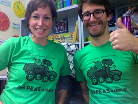 Peas Is Happy With Their Ts!!! T-Shirt Photo