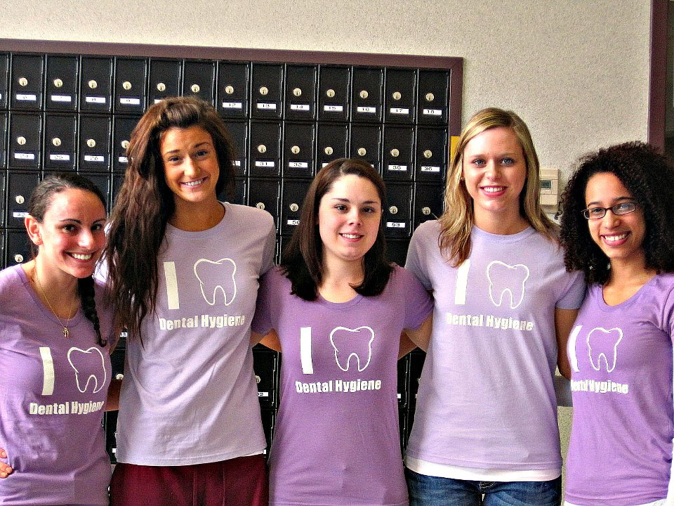 Custom T-Shirts for Dental Hygiene Students!