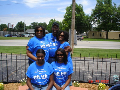 Uncle Jimmie & His Beautiful Nieces! T-Shirt Photo