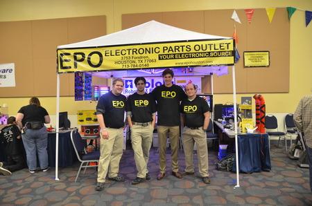 Epo At Houston Mini Maker Fair 2013 T-Shirt Photo
