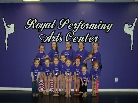 Royal Performing Arts Center Elite Competition Team T-Shirt Photo
