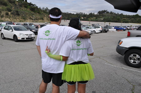 Luis And Shaye Take On The Color Run! T-Shirt Photo
