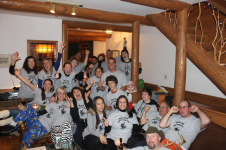 30th Birthday Ski House <3 T-Shirt Photo