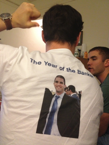 Year Of The Banker  T-Shirt Photo