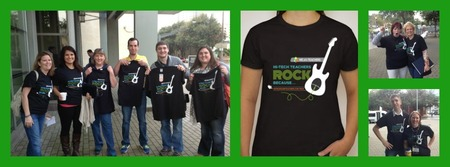 Teachers Rock! T-Shirt Photo