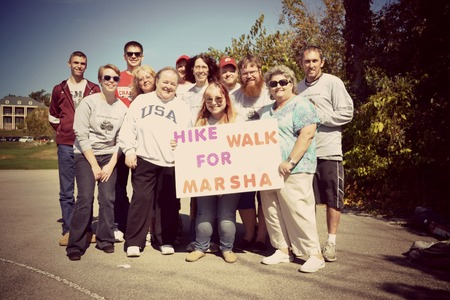 Hike For Marsha 2012  You Are Never Alone  T-Shirt Photo