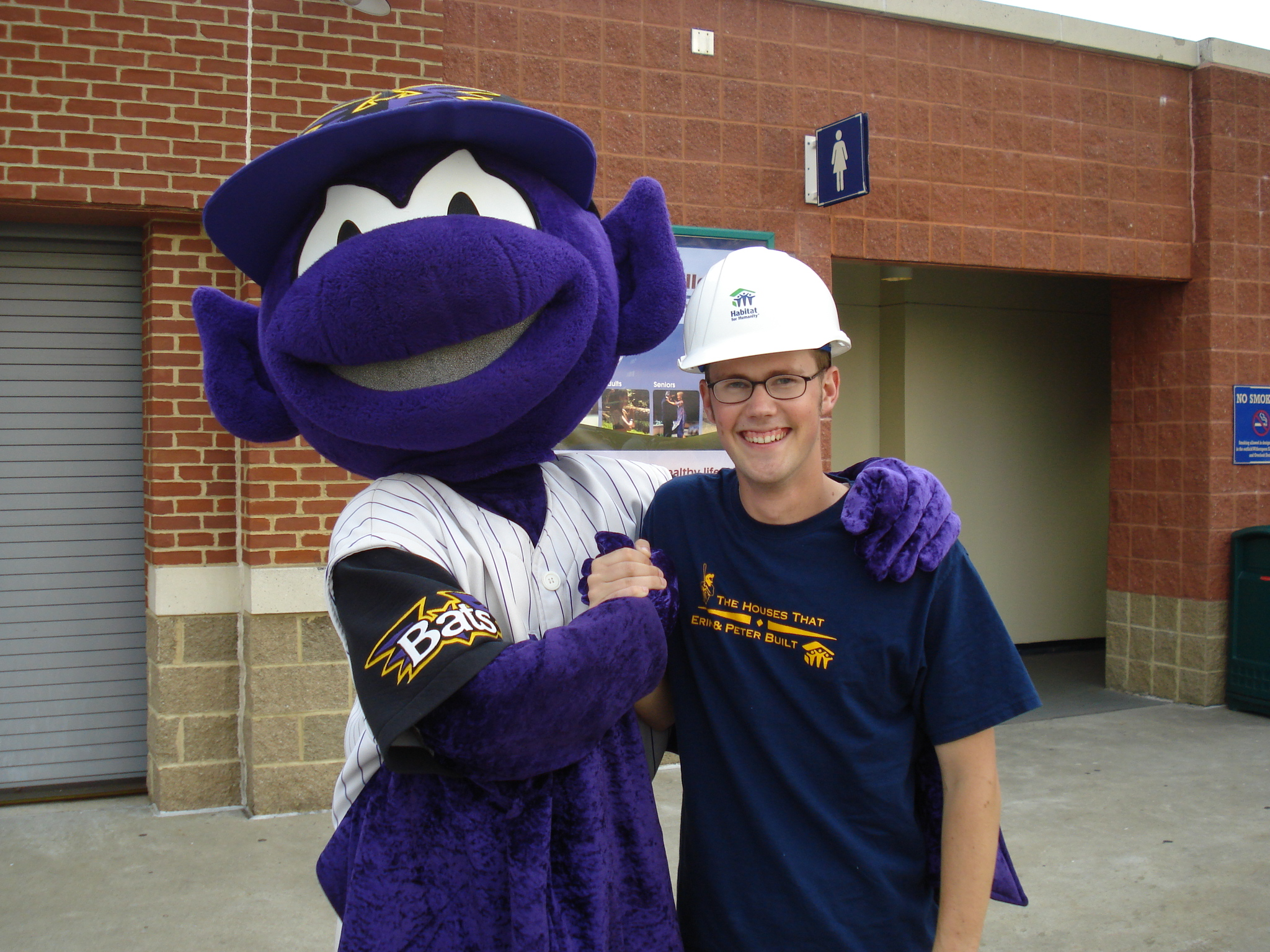 Design your own t shirt louisville ky - Habitat For Humanity Fundraising With The Louisville Bats T Shirt Photo
