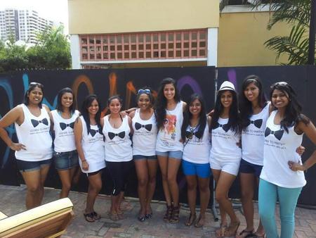 Miniya's Bachelorette   Miami T-Shirt Photo