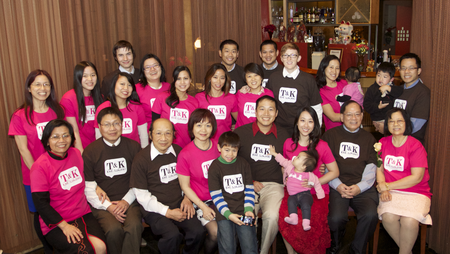 T&K Family Celebration T-Shirt Photo