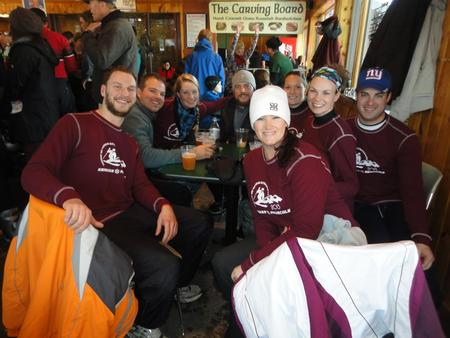 Winding Down After A Long Day Skiing T-Shirt Photo