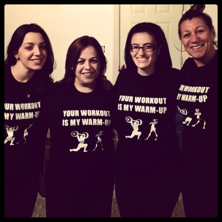 Friends In Training T-Shirt Photo