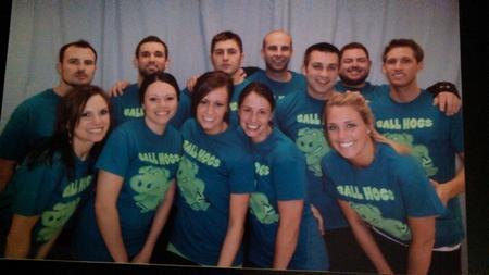 Dodgeball Champs! T-Shirt Photo
