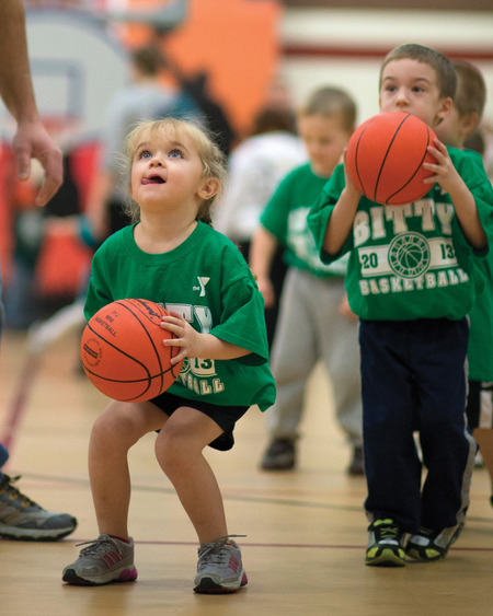 Bitty B Ball T-Shirt Photo