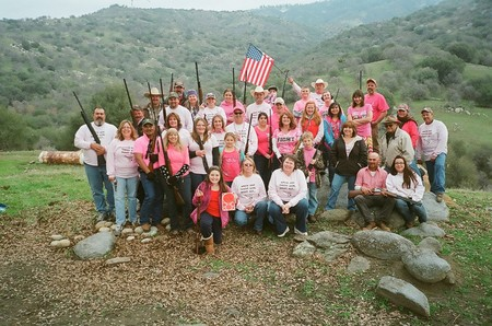 Together We Can Shoot Out Cancer T-Shirt Photo