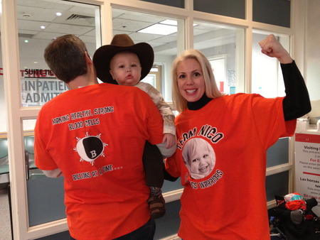 Wellness Warriors Arrive At Children's Hospital!  T-Shirt Photo