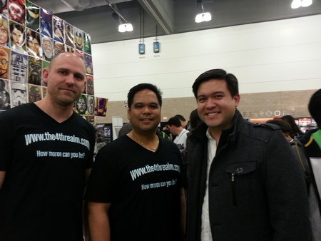 The4threalm.Com At The Dallas Sci Fi Expo T-Shirt Photo