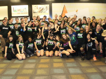 Team Tay Tow At Osu Buckeyethon! T-Shirt Photo