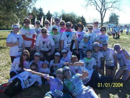 #Teamwiese The Color Vibe 2013 T-Shirt Photo
