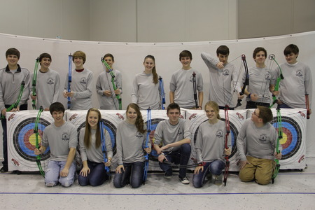Sr. Lrca Warrior Archers Advance To State! T-Shirt Photo