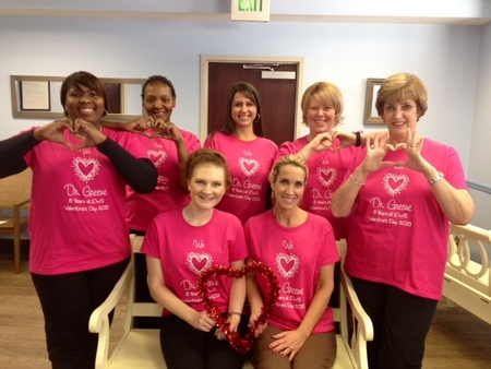 Loving Our Dr. Greene On Valentine's Day! T-Shirt Photo
