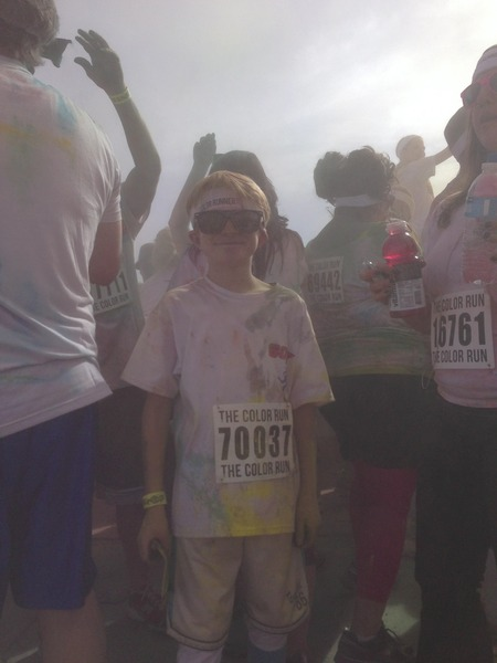 Color Run, Team Bustin Ours To Save Yours! T-Shirt Photo