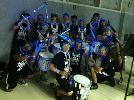 Willowbrook High School Drumline T-Shirt Photo