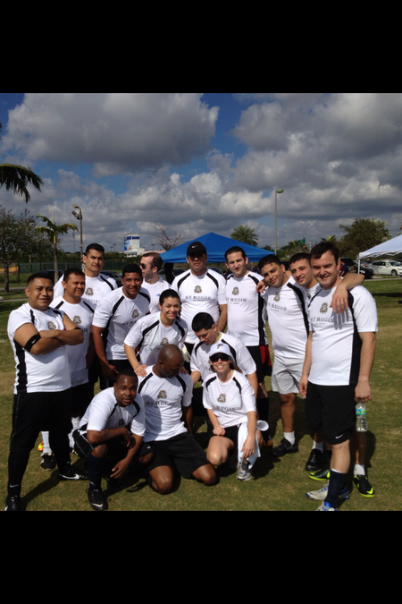 The St. Regis Bal Harbour Soccer Team T-Shirt Photo