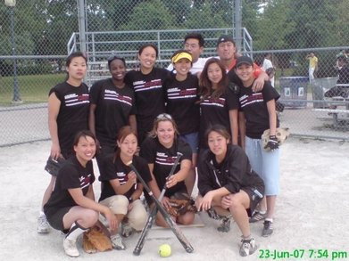 All Girls Softball Champs T-Shirt Photo