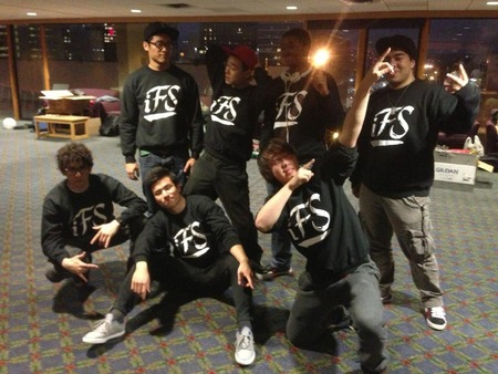 Breakdancers After A Successful Performance!  T-Shirt Photo