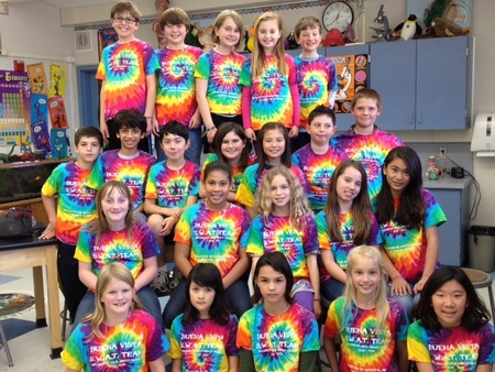 S.W.A.T. Team (Students Wild About Trash!) T-Shirt Photo