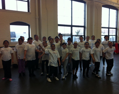 Calpulli Youth Dance In New York City! T-Shirt Photo
