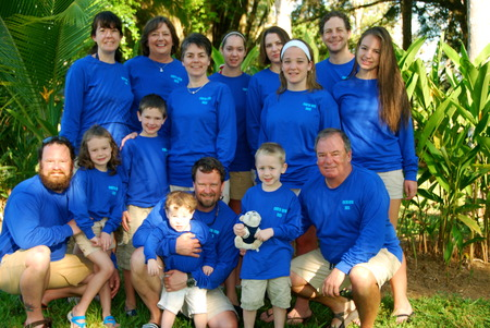 Family Fun In Costa Rica T-Shirt Photo