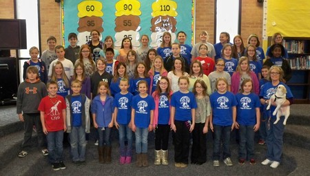 Mrs. Keller's Nature Club   2013 T-Shirt Photo